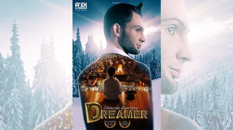 Affiche Dreamer, spectacle Alexandre Laigneau le magicien