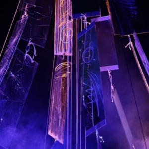 Bruit des glaces - Performance artistique Au Sud du Nord