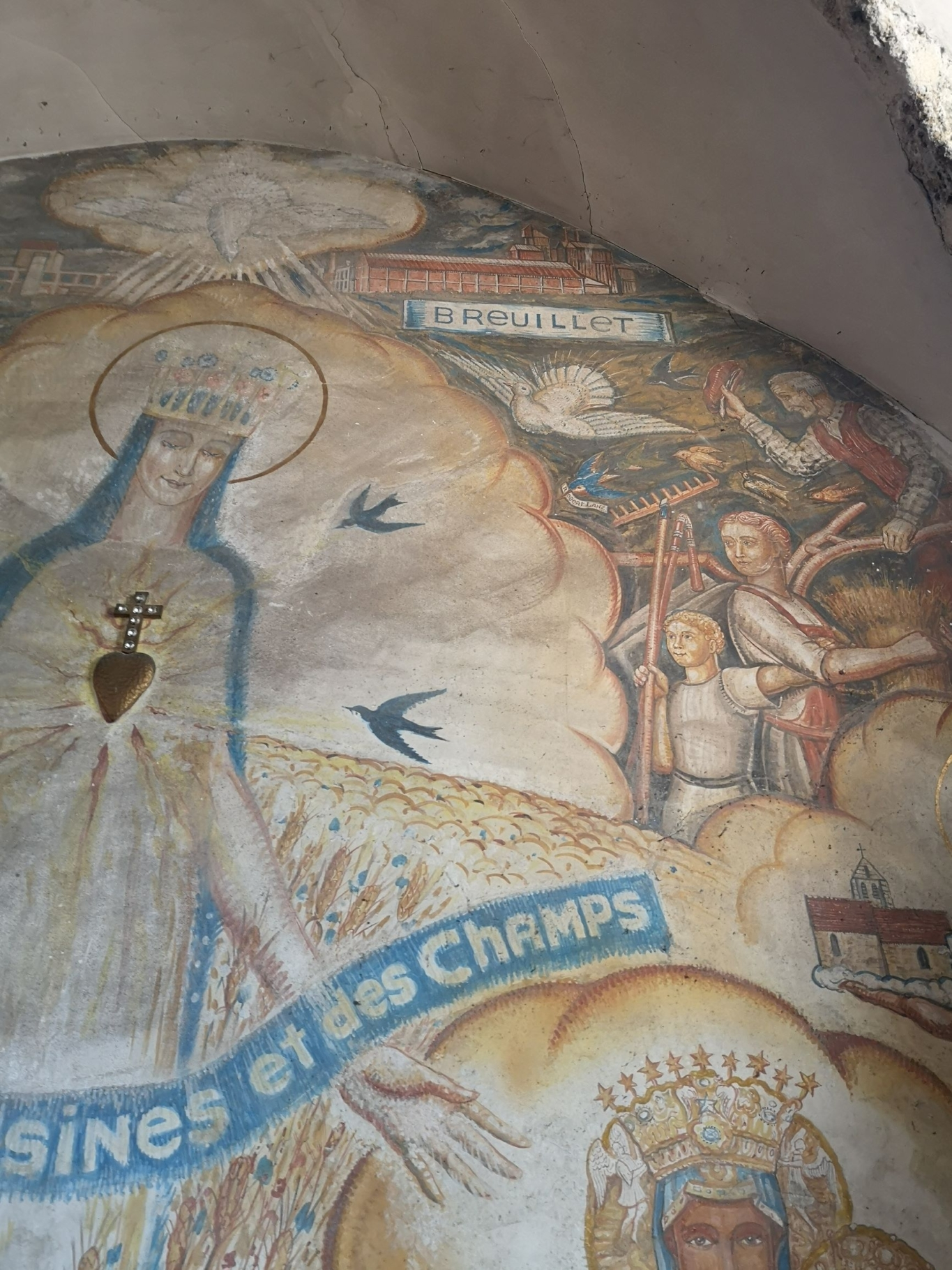 Fresque église de Breuillet 2