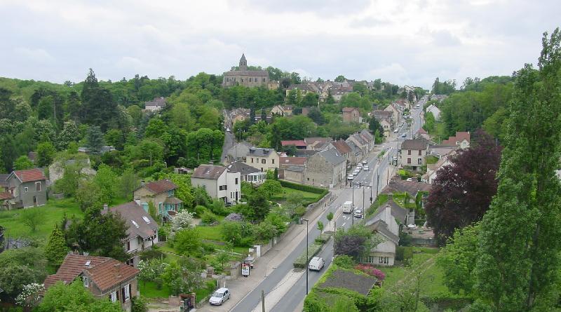 Gometz vu du ciel Photo Association Mémoire castelgometzienne