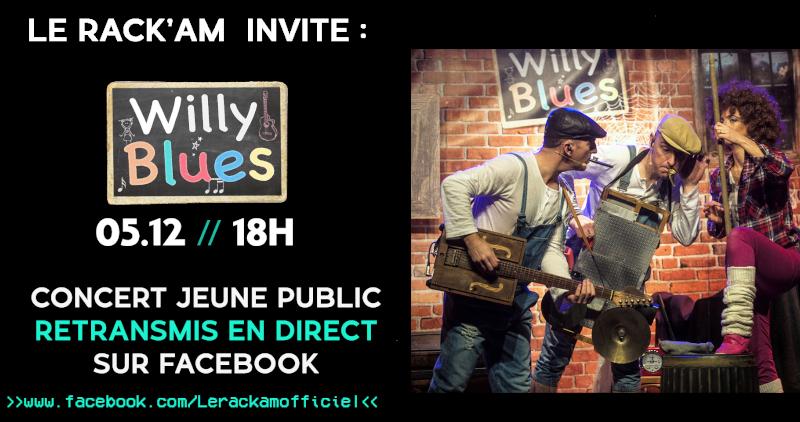 Willy Blues au Rack'Am 1