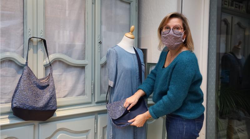 Isabelle Trovato, Du fil au trésor, couturière à Saint-germain-les-Corbeil. Photo LC-M'Essonne