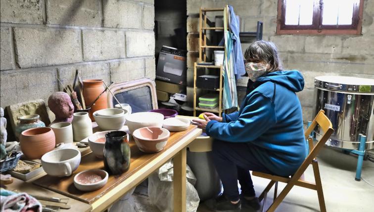 Le pot d hermine Laurence Litaize à Villabé Essonne
