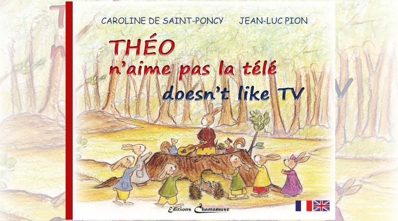 Livre Theo n'aime pas la télé
