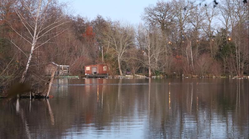 Les cabanes de pêcheurs des étangs de Vert-le-Petit. Photo LC-M'Essonne.