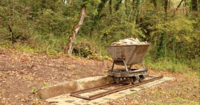 Un wagonnet Decauville à la Butte du Puits. Photo LC - M'Essonne