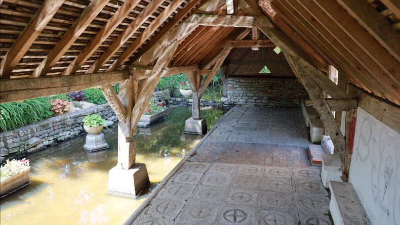 Le lavoir de Chambon-la-Forêt. Photo LC-M'Essonne
