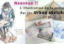 Nouveauté M'Essonne : l'illustration de la semaine par les Urban sketchers
