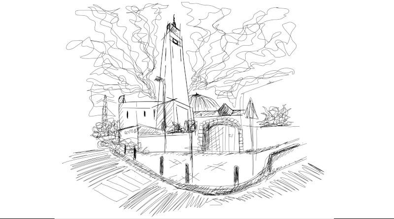 La mosquée d'Évry par Thierry.