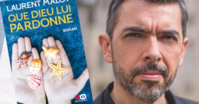 Laurent Malot, roman Que dieu lui pardonne. Photo Sophie Finot
