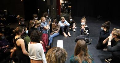 Les rencontres des écoles d'art 2021 au théâtre de l'Agora à Évry. Photo LC-M'Essonne