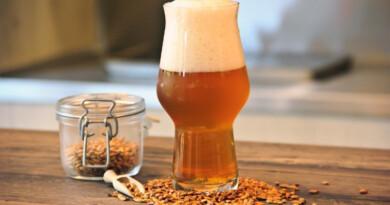 La bière du champ à l'apéro