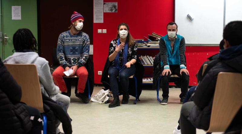 Les acteurs de Don Quichotte ont pu retrouver du public, après presqu'un an sans jouer. Photo (c) Lionel Antoni