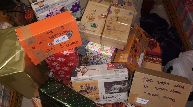 Certaines boîtes étaient décorées de dessins et de mots d'enfants. Photo (c) Anim' ton quartier
