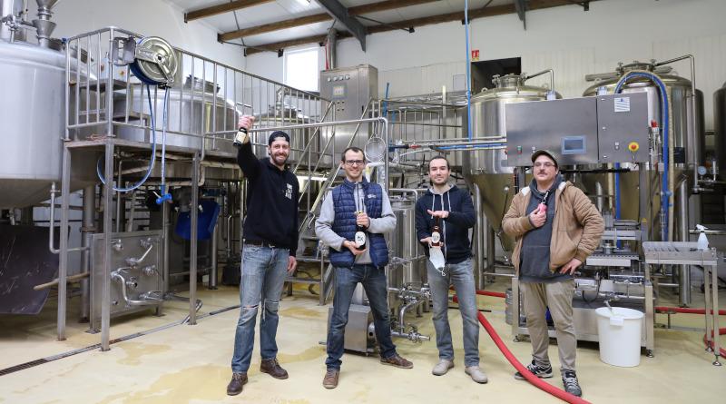 L'équipe de la brasserie Ox à Marcoussis. Photo LC-M'Essonne