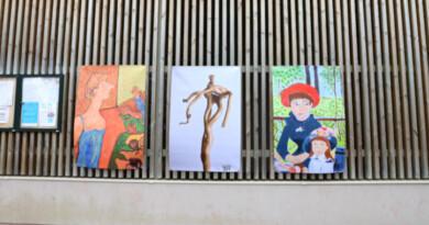 Cent-cinq photos d'oeuvres sont réparties dans toute la ville, à Corbeil-Essonnes. Photo LC-M'Essonne