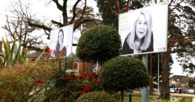 Exposition Portraits de femmes, parc Pablo Neruda à Sainte-Geneviève-des-Bois. Photo LC-M'Essonne