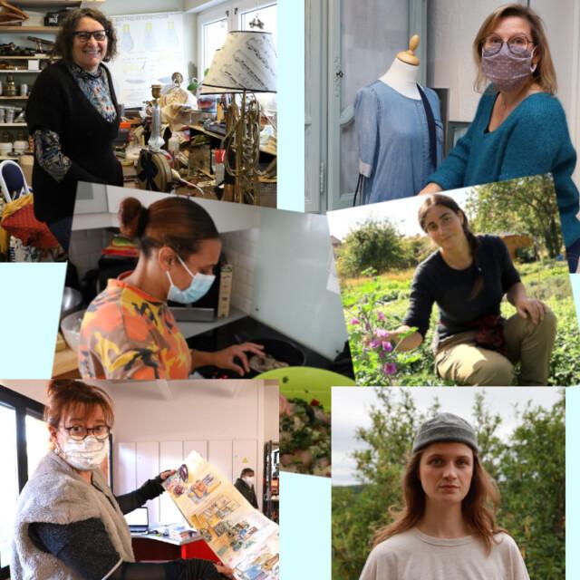 Portraits de six femmes de l'Essonne