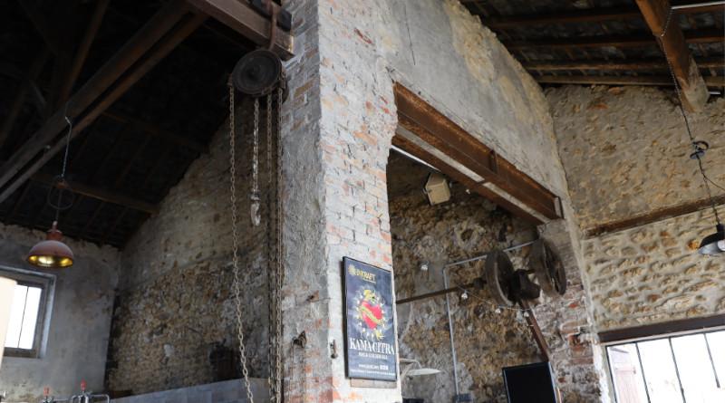 Le lieu a été une forge puis un atelier de mécanique avant de devenir brasserie. Photo LC-M'Essonne