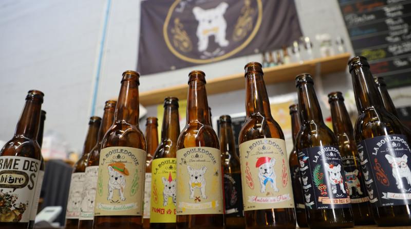Douze références de bières sont proposées, complétées par les saisonnières et les recettes éphémères ou collaboratives. Photo LC-M'Essonne