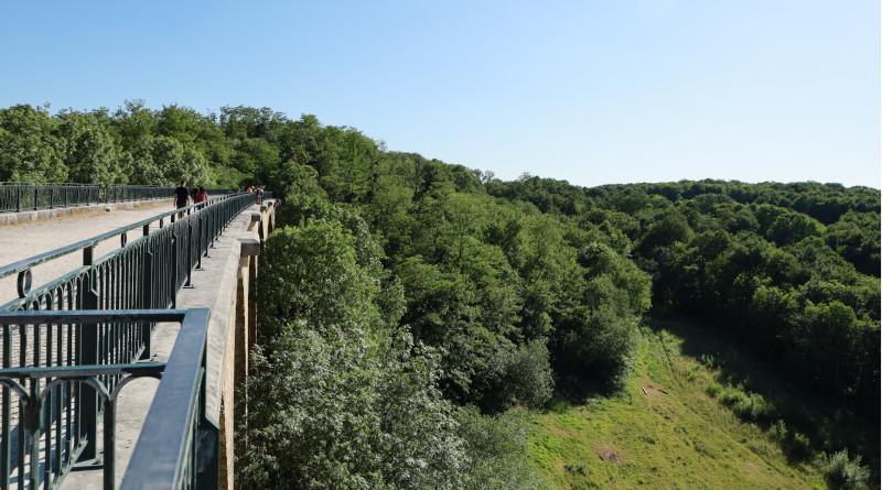 La Véloscénie passe notamment par le viaduc des Fauvettes. Photo LC-M'Essonne