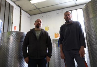 Michel et Xavier, à la tête de la Brasserie de la Juine. Photo LC- M'Essonne