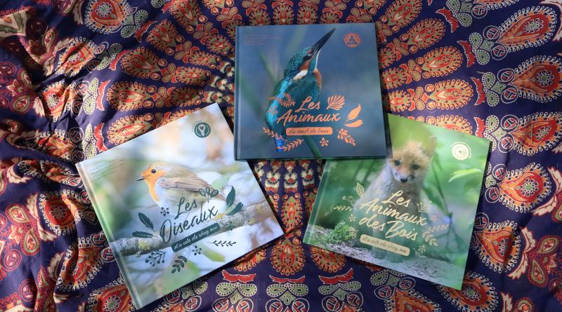 Les animaux emblématiques du Gâtinais figurent dans les trois albums. Photo LC-M'Essonne