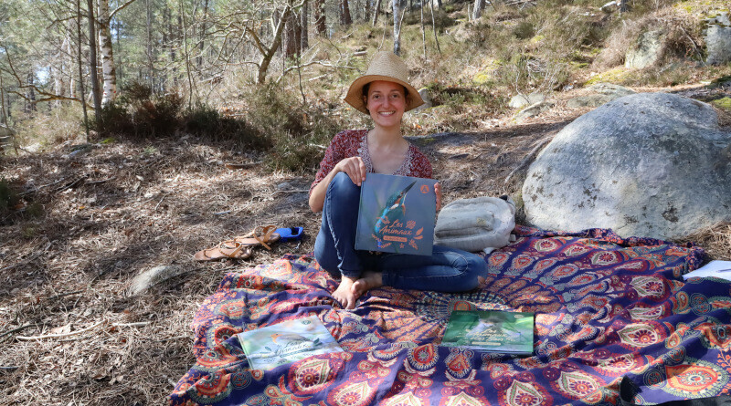Pauline Métais, auteure jeunesse sur la nature. Photo LC-M'Essonne