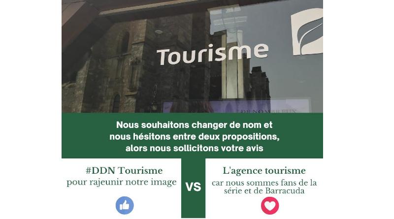 Poisson d'avril 2021 en Essonne : Dourdan tourisme veut devenir l'agence tourisme.