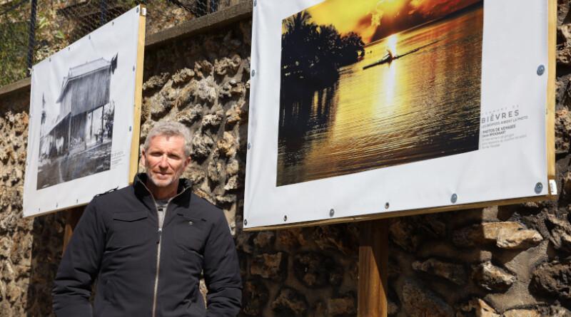 Denis Brogniart expose ses photos à Bièvres jusqu'à début septembre 2021. Photo LC-M'Essonne