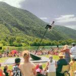 Abbéville-la-Rivière accueillera deux spectacles du festival de jour // de nuit. Photo (c) Zalem Delarbre