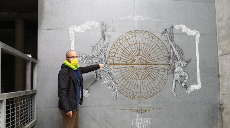 Visites street art à Évry-Courcouronnes par Franck Senaud.