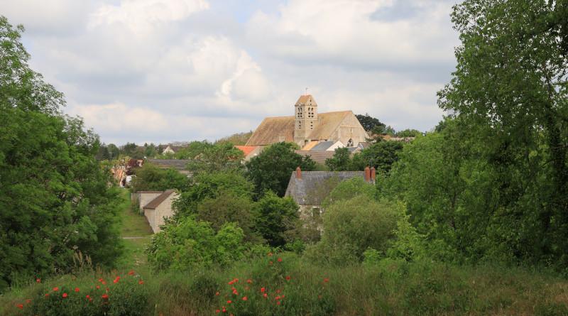 Vue sur le village de Chalou-Moulineux. Photo LC-M'Essonne