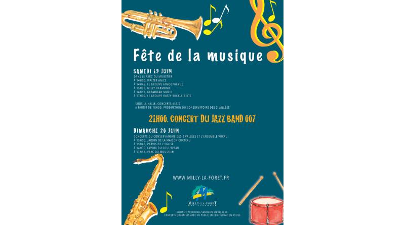 Programme des concerts