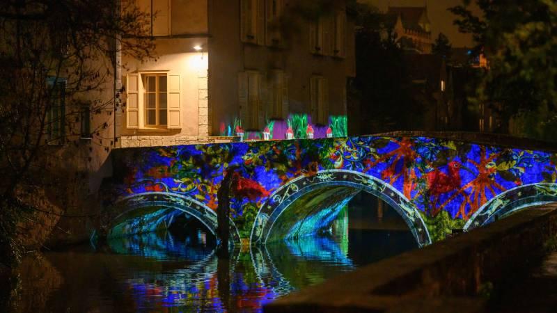 Le pont Saint-Hilaire ainsi que les autres ponts de l'Eure font parti des nouveautés 2021 - Crédit Groupement Martino