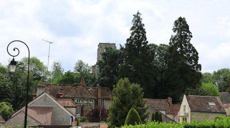 La tour-clocher du hameau de Moulineux. Photo LC-M'Essonne