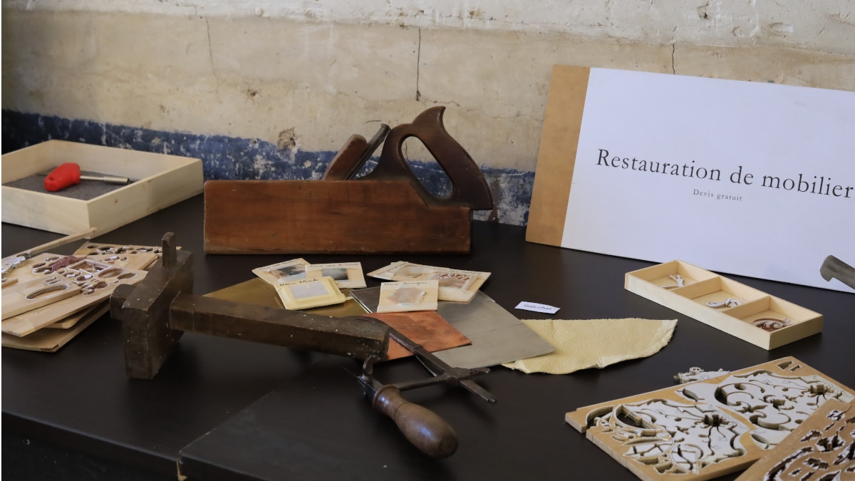 Fête de la création et des métiers d'art 2020 au château de Saint-Jean-de-Beauregard. Photo LC-M'Essonne